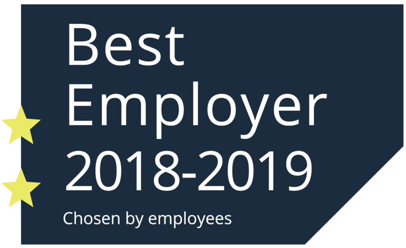 Certificate Best Employer 2018-2019